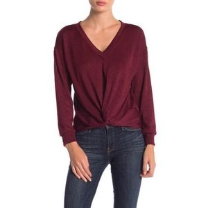 Nordstrom Front Twist Knot Sweater